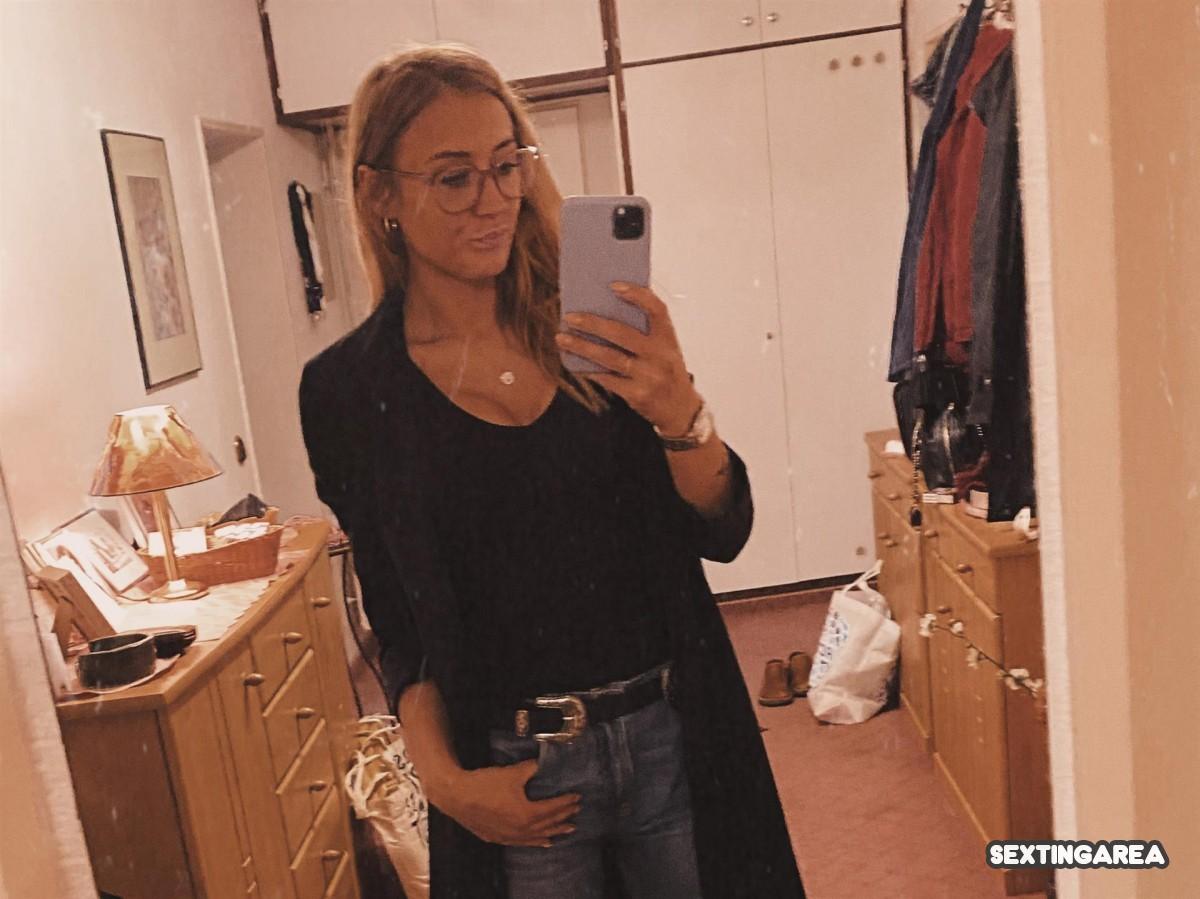Selfie im ganz normalen Alltags-Look