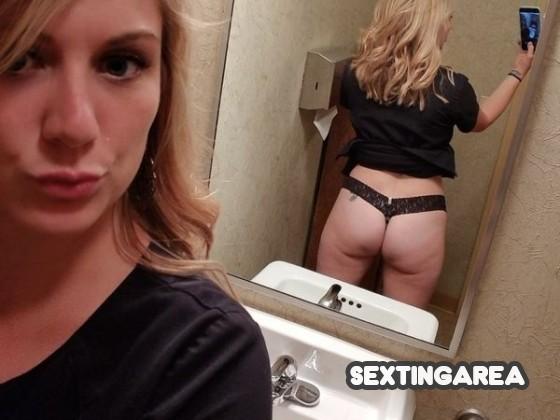 💕 Mega Blondinen Selfie 💕